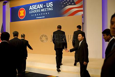 奥巴马赴东南亚国家联盟图片