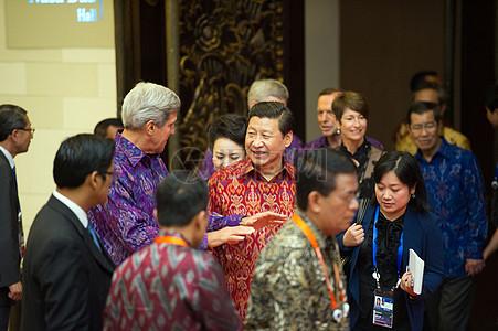 秘书克里说,与中国的熙总裁图片