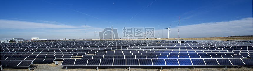 太阳能发电板图片