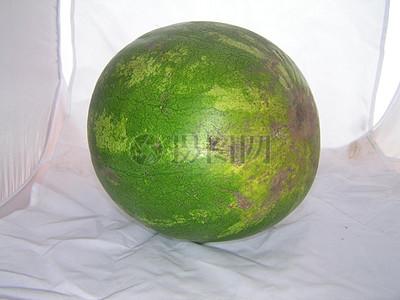 圆形的大西瓜图片
