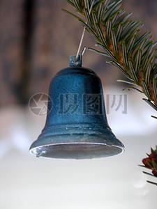 蓝色的小铃铛图片
