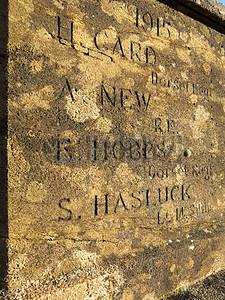 石头上的碑文图片