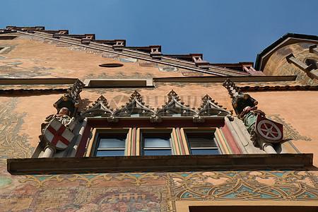 西欧式的房屋图片