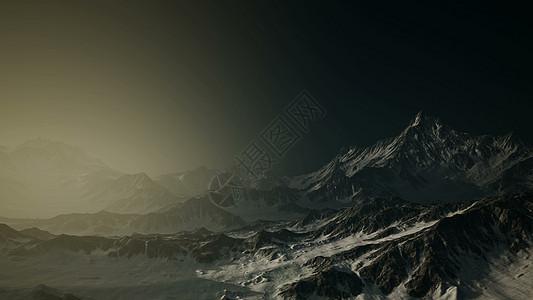 8k空中挪威山脉严峻的景观戏剧性的深色8k空中挪威山脉严峻的景观图片