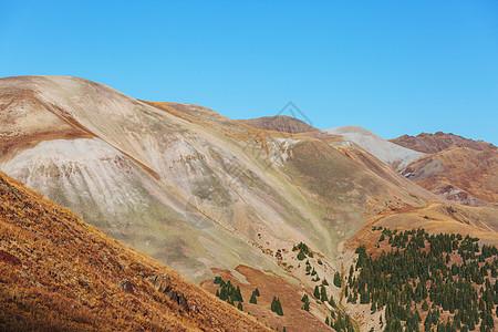 科罗拉多岩石山的山脉景观,科罗拉多州,美国图片