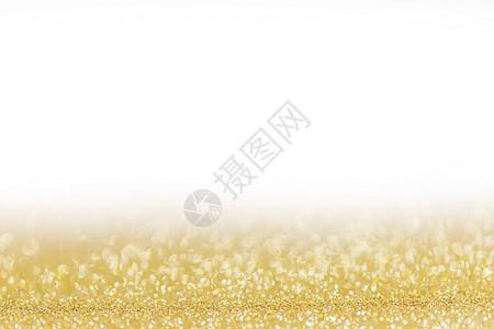 金色的节日闪光背景与离焦的灯光,白色的节日的闪光背景图片
