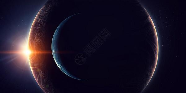来自太空的地球展示了所有的美丽这幅图像的元素由美国宇航局提供的们独特的宇宙图片