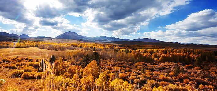 内华达山脉的风景图片