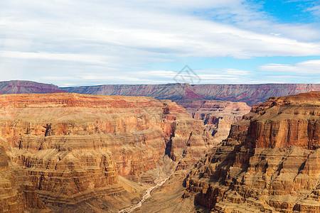 景观自然直升机上俯瞰大峡谷干旱河床直升机上俯瞰大峡谷图片