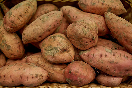 蔬菜,收获,食物销售红薯篮子图片