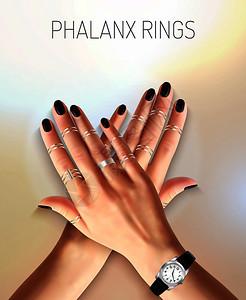 美丽的女手与时尚珠宝银指骨戒指观看现实矢量插图珠宝写实插图图片