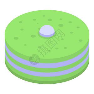 红茶蛋糕图标与白色背景孤立的网络设计相匹配的茶蛋糕矢量图标的等值红茶蛋糕图标等量样式图片