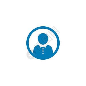 联系人客户服务或呼叫中心徽标识图示设计图片
