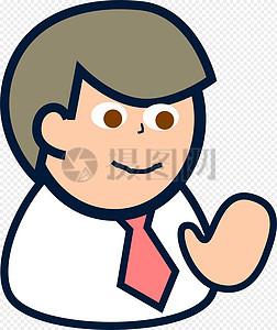 可爱的卡通男子图片