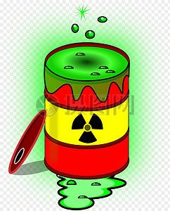 放射性有毒绿色溶剂图片