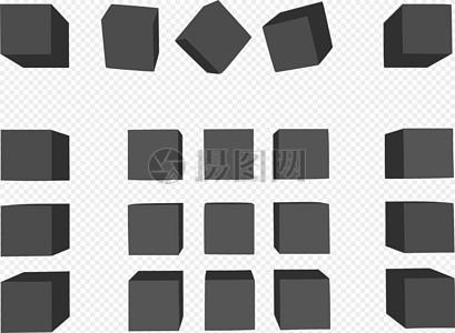 3D立方体图片