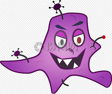 邪恶的病菌图片