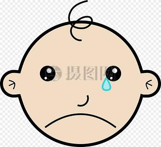 哭的伤心的孩子图片