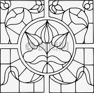 窗户玻璃设计图片