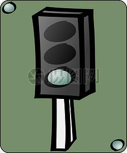交通信号灯绿灯图片