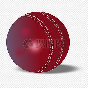 红褐色的板球图片