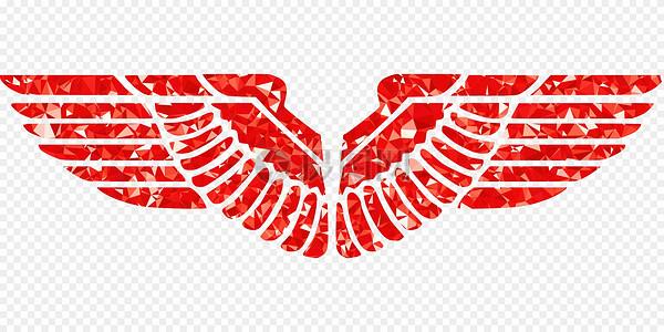 鹰的翅膀高清图片