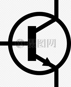 晶体管电子示意图图片