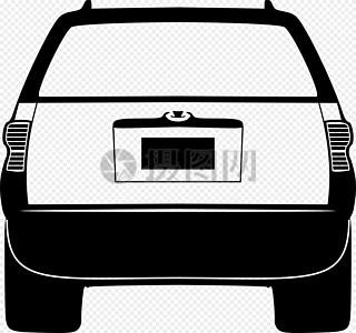 商务车尾部图片