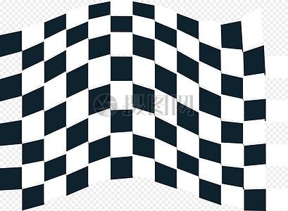 赛车跑道黑白格子图片_赛车跑道黑白格子素材_赛车_摄