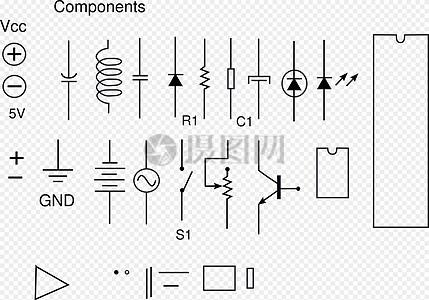 电子电路图图片
