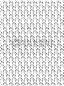 正六边形网图片