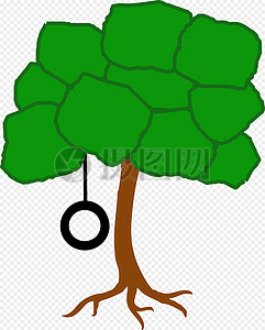树, 摆动图片