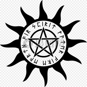 五角星巫术符号图片