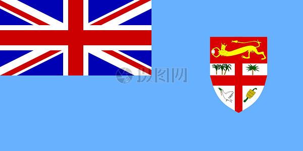 国旗和盾构图标图片