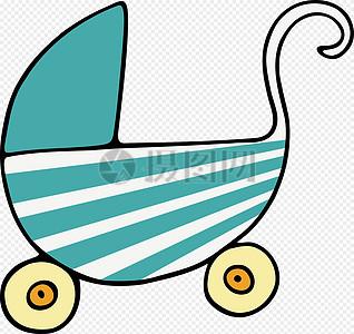 推椅, 孩子的婴儿车图片