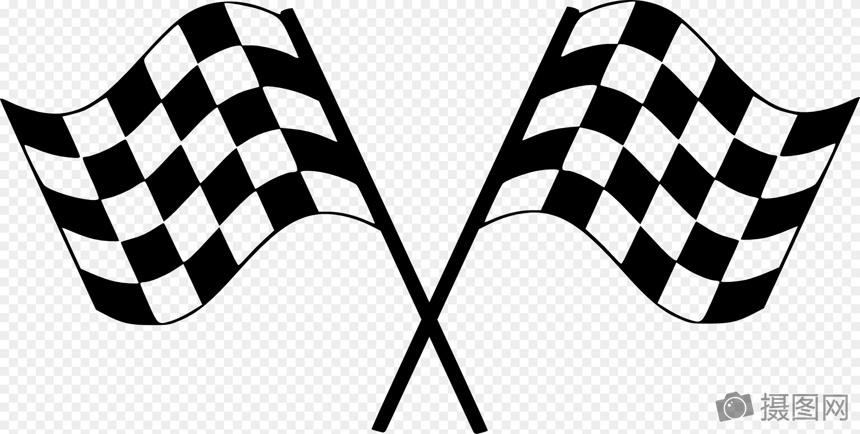 检查标志, 赛车旗帜