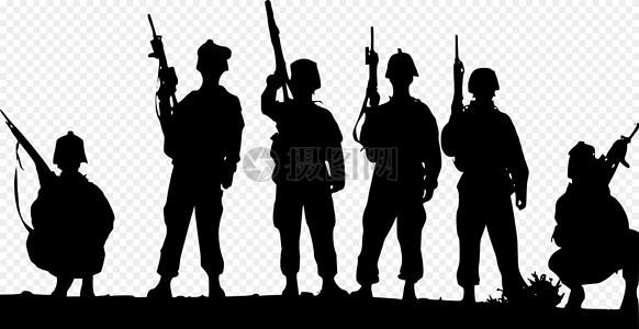 军队, 枪炮, 士兵,图片