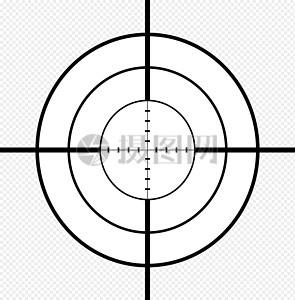 狙击手, 十字线, 步枪, crosslines, 交叉线, 枪, 目标 , 免费矢量图,  免费插图片