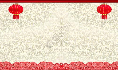 中国风红色喜庆节日素材图片