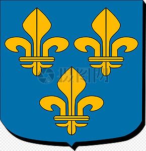 盾构蓝色徽章图片