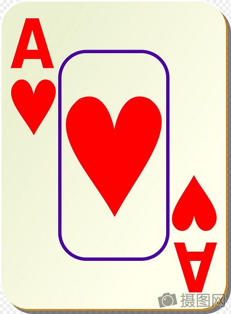 扑克牌红桃A摄影图片照片免费下载,正版图片编号990783,搜索图片图片