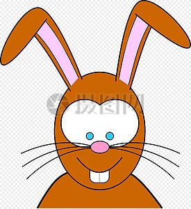 搞笑的卡通兔子图片