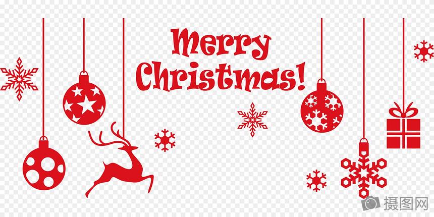 圣诞贺卡装饰图片