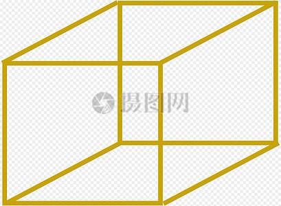 立方体, 3d, 固体,图片