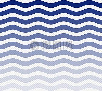蓝色波浪高清图片