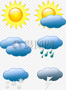 天气预报图像图片