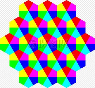 颜色, 六边形,图片