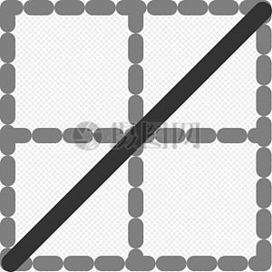对角线田字格图片
