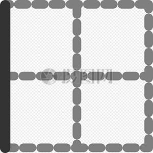 左框田字格图片