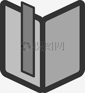 图书的书签图片